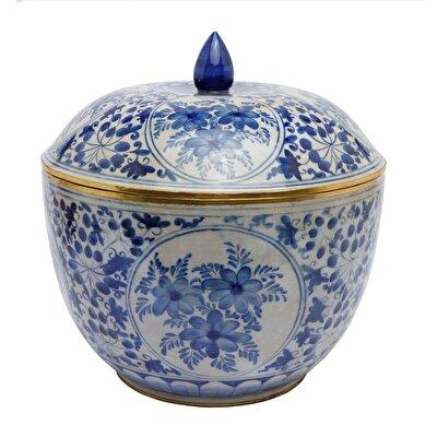 Handmade Porcelain Bowl ( 31 X 23 Cm )