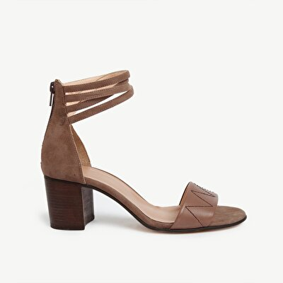 Picture of Leather HigH-Heel Sandal