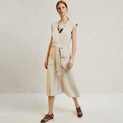Picture of Belted Midi Dress