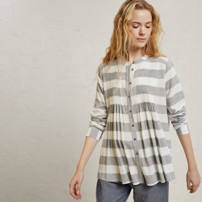 Pleat Detail Shirt