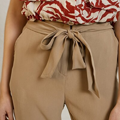 Waist Band Detailed Trousers