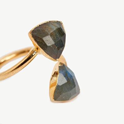 Doppelstein Ring