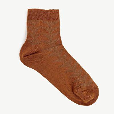 Damen Sockem mit Jacquard Motiven