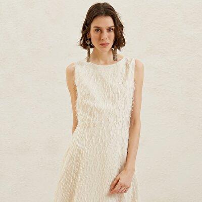 Sırtı Açık A Kesim Dress