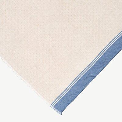 Baumwollschal mit minimal Design