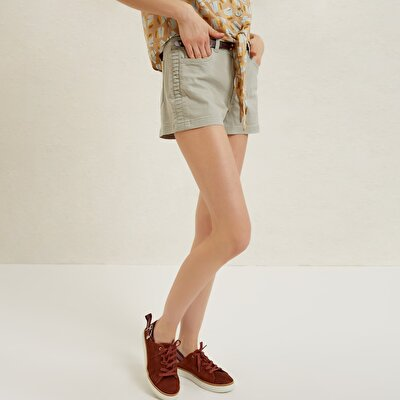 Pleat Detailed Shorts