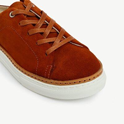 Arkası Açık Süet Spor Ayakkabı
