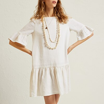 Fringe Detailed  Dress