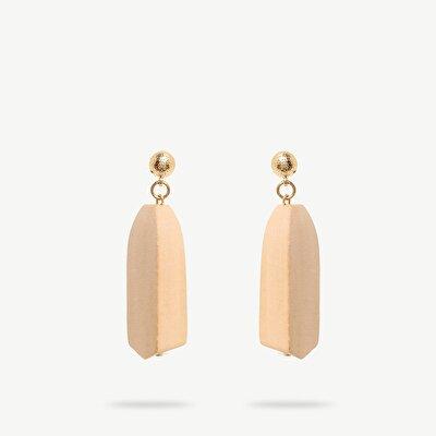 Ohrhänger aus Holz