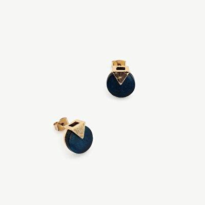Schlichte Ohrringe in Dreiecksform