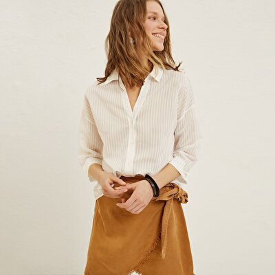 Collar Detail Shirt
