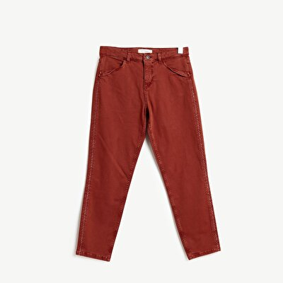 Stitch Detailed Trouser