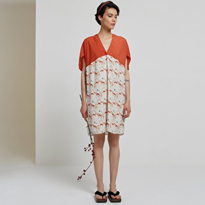 Short Sleeve Kimono Dress