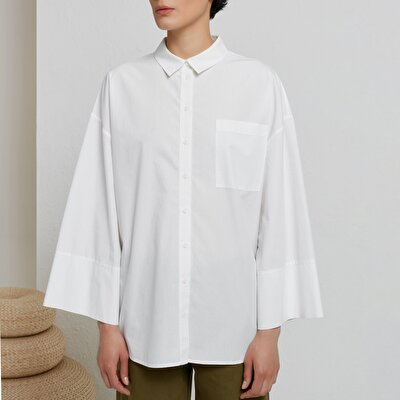 Wide Sleeved Shirt