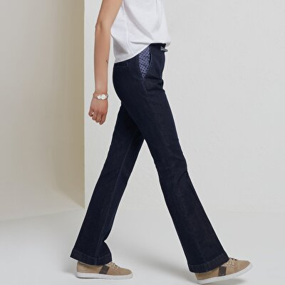 Pocket Detailed Denim Trouser