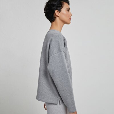 Hem Detailed Sweatshirt