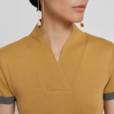 Strickoberteil mit Kimono Kragen
