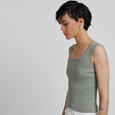 Square Neck Knitwear