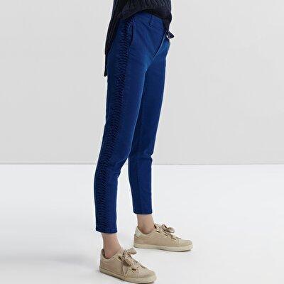Fold Detailed Trouser
