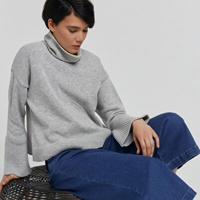 Turtle Neck Relaxed Fit Knitwear