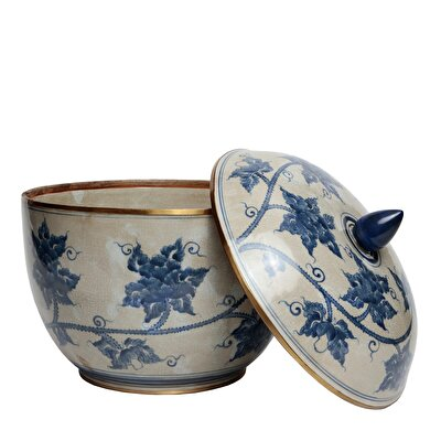 Handmade Porcelain Pot ( 35 X 38 Cm )