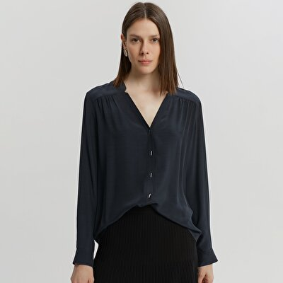 Gathered Front Shirt