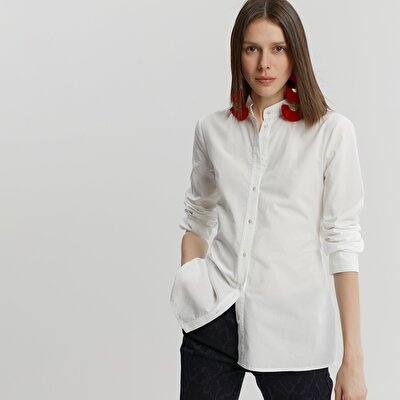 Bağlama Detaylı Gömlek