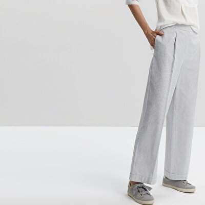 Folded Front Trousers