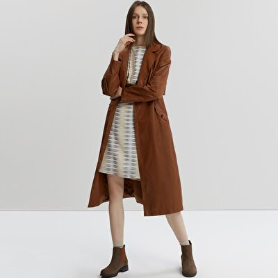 Loop Detail Trenchcoat