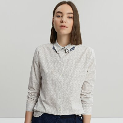 Collar Detailed Shirt