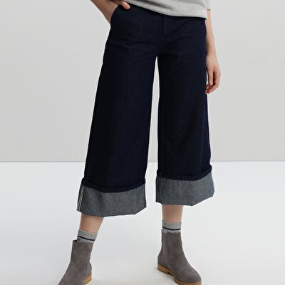Loose Fit Denim Trouser