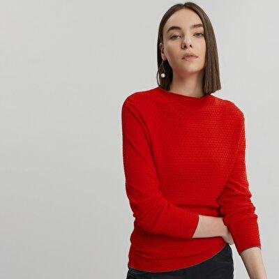 Contrast Stripe Detailed Knitwear