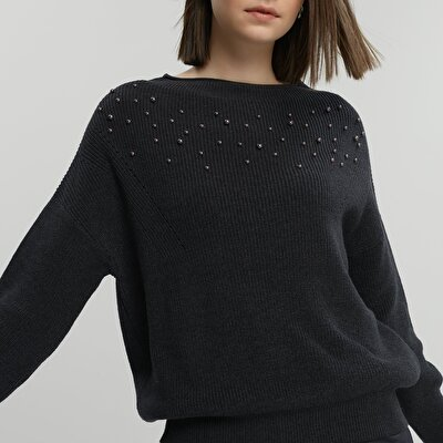 Pearl Detailed Knitwear