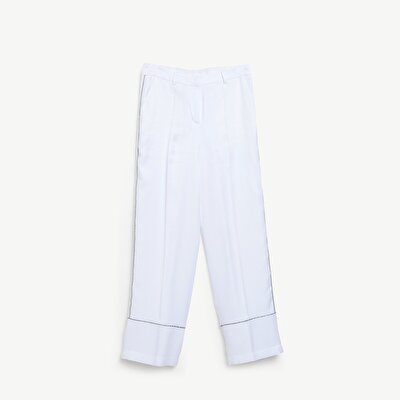Trim Detailed Trousers