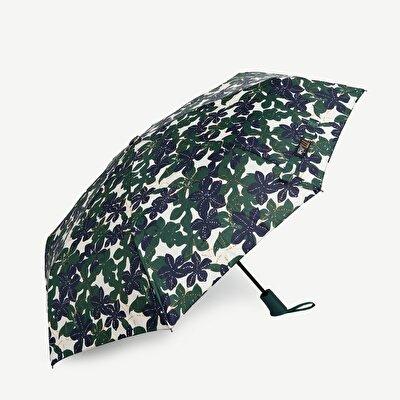Schirm klein mit Blumenmuster