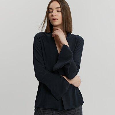 Damen Hemd mit Schlitz