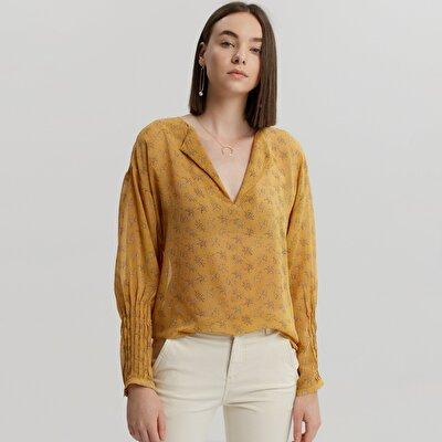 Sleeve Detailed Shirt