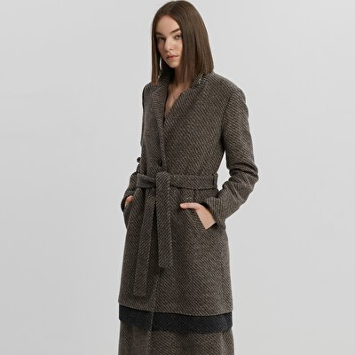 Layered Long  Coat