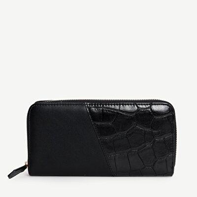 Damen Portemonnaie mit Reißverschluss