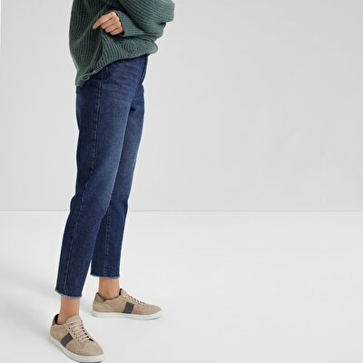 Comfort Fit Denim Trouser