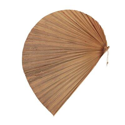 Decorative Hand Fan ( 41  X 32  X  0,5 Cm )
