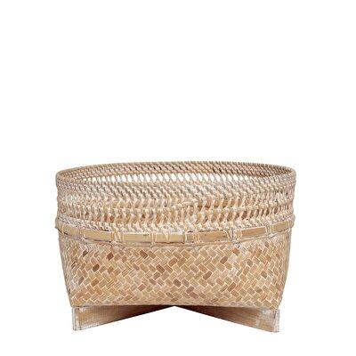 Rattan Basket ( 30  X  18 Cm )