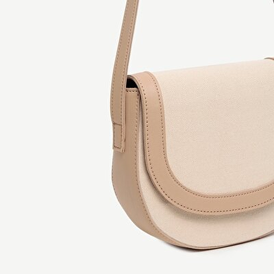 Crossbody Fabric Detailed Shoulder Bag