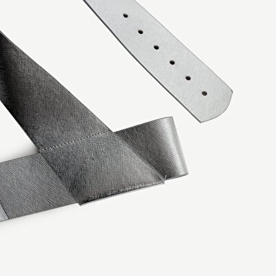 Metalik Kalın Bel Kemeri