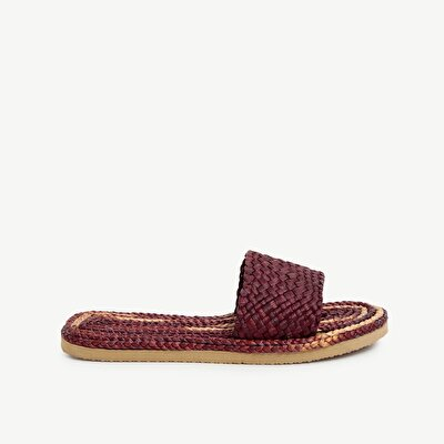 Handwoven Straw Slipper