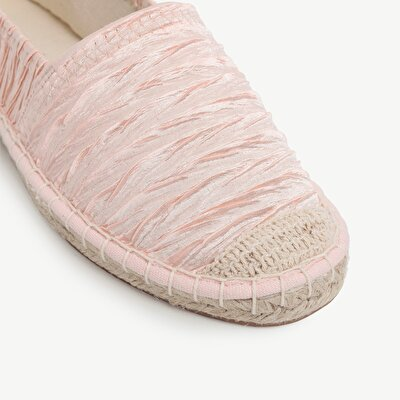Sateen Fabric Espadrille