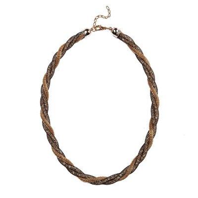 Stone Plait Necklace