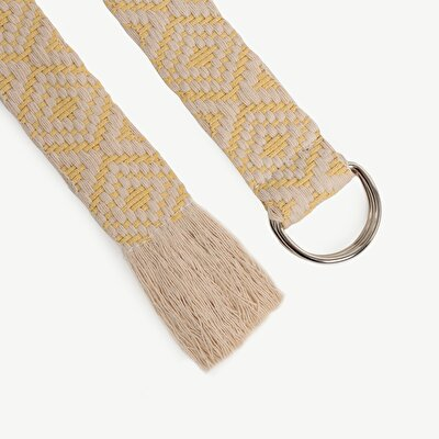 Two Tone Pattern Cotton Belt