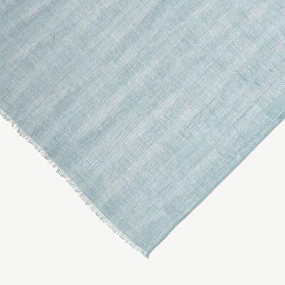 Minimal Print Linen Scarf