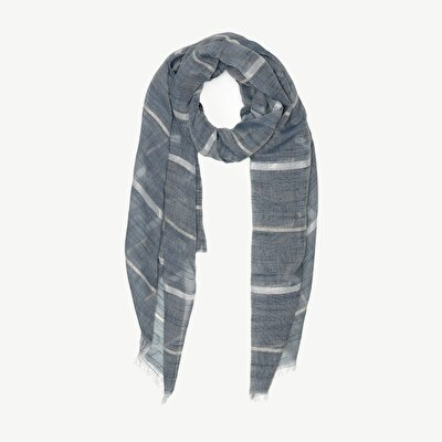 Scarf With Horizantal Stripes